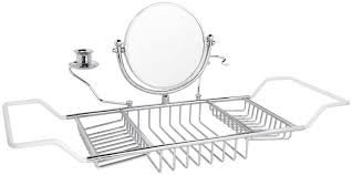 compact taymor teak bathtub caddy 108 bathaddy rack and tray bathroom inspirations large size