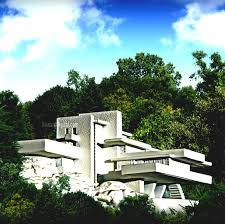 famous architecture houses. Perfect Architecture Falling Water Fallingwater Guggenheim Museum The Robie House Famous  Architecture Houses Lg In N