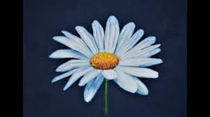 daisy acrylic painting tutorial how to paint flowers