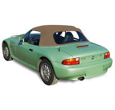 new bmw z3 1996 2002 convertible soft top replacement plastic window tan twill bmw z3 1996 2002