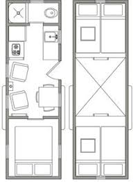 Small Picture 8x16 tiny house floor plan sample from the book Tiny House Floor