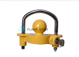 ball hitch lock. universal trailer ball locks, deadbolt hitch lock, tiny heavy duty connected coupler lock |