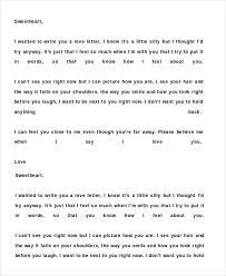 Romantic Love Letter For Her