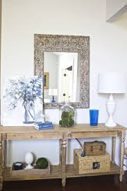 white foyer table. Sophisticated Mirror White Wall Mount And Charming Lowes Table Plus Mesmerizing Lamp Foyer