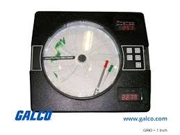 Partlow Mrc 7000 Circular Chart Recorder 710000000021n3 Ptlw