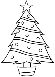 Small Picture Christmas Tree Coloring Page Printable Christian Coloring Pages
