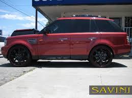 Range Rover Sport - Savini Wheels