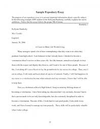cover letter example of expository essay give an example of an cover letter cover letter template for example of expository essay sample model and structureexample of expository