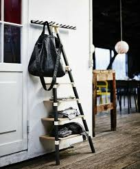 5 tier wooden wall ikea leaning ladder