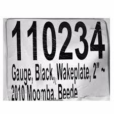 moomba 2010 silver black 2in beede 947766 boat wakeplate wake moomba 2010 silver black 2in beede 947766 boat wakeplate wake plate gauge