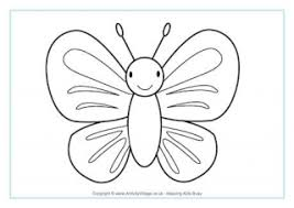 Small Picture Butterfly Colouring Pages