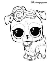 Lol Doll Coloring Pages Printable Trycoloring