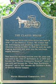 claeys house marker