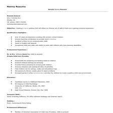 sample nanny resume format x jpg sample nanny resume makemoney alex tk
