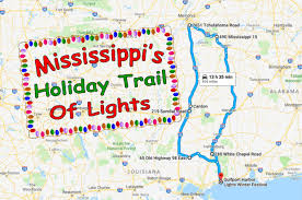 Best Christmas Lights In Mississippi The Best Christmas Lights In Mississippi Road Trip
