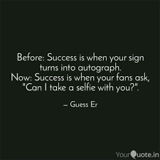 Quote Sign Inspiration Before Success Is When Y Quotes Writings By Sricharan R