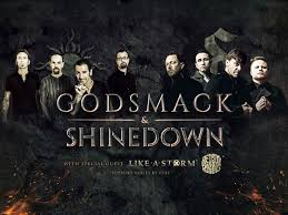 rock power houses smack and shinedown will team up again and hit the road this summer for a 29 city co headline tour across the u s