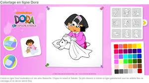 Jeu Dora Coloriage En Ligne Jeu Enfants Hd Complet Youtube