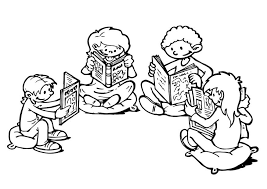 Small Picture Coloring page reading corner img 19289