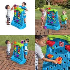 details about step2 waterfall discovery wall playset