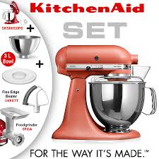 kitchenaid mixer colors 2016. kitchenaid - artisan stand mixer set terracotta kitchenaid colors 2016