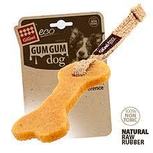 <b>GIGWI GUM GUM</b> DOG <b>Игрушка</b> для щенков Эко кость - купить ...