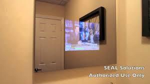 bathroom mirror pretty ideas mirror tv bathroom seal solutions tv you with built in screen behind