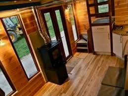 wood stove for tiny house. Off Grid Tiny House With Wood Stove For