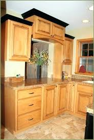 kitchen cabinet crown molding installation cabinets trim with under moulding