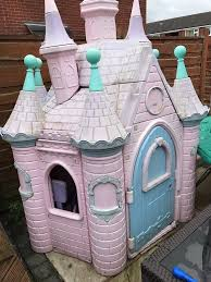 girls princess castle disney little tikes play house outdoor