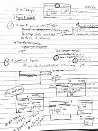portland tech internship experience ptix web page jtwoodall ptix intern experience page sketches
