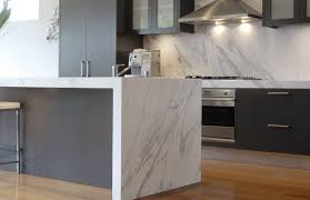 calacatta marble kitchen waterfall:  images about ideas for the house on pinterest its always and the cabinet