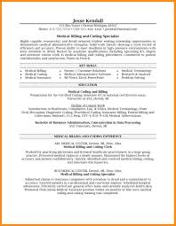 7 Medical Billing Resume Examples Billing Resume Sample Resume Samples