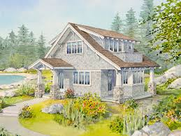 Live Large in a Small House   an Open Floor Plan   Bungalow Company    Small House   an Open Floor Plan  sea grass exterior drawing featured
