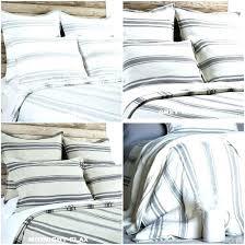 ticking stripe bedding ticking stripe duvet topic to pleasant linen ticking stripe mermaid long ruffle ticking stripe bedding