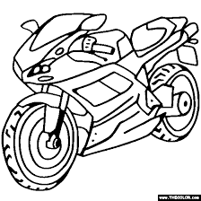 coloring pages bikes. Fine Coloring Ducati Sportbike Motorcycle Online Coloring Page On Pages Bikes