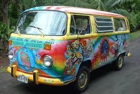 volkswagen van hippie. grateful dead bears on a hippie van. gahh my dream! volkswagen van