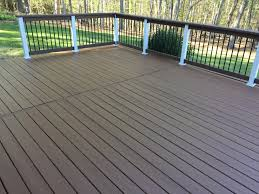 outdoor deck paint or stain. did the deck today and love double shade paint colors. behr chocolate on outdoor or stain p