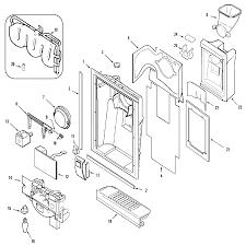 Maytag model mzd2766ges side by side refrigerator genuine parts maytag refrigerator electrical schematic wiring