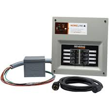 generac upgradeable manual transfer switch kit for 8 circuits 6853 how to connect a manual transfer switch at Generator Manual Transfer Switch Wiring Diagram