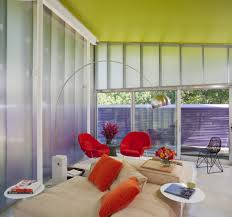 Reading Room In House Furniture Colorful Shelter Island House In New York By Stamberg