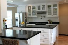 white kitchen black island remarkable white kitchen island with black granite top and top mount prep white kitchen black island