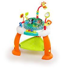 Amazon.com : Bright Starts Bounce Bounce Baby : Stationary Baby ...