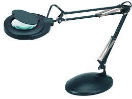 desk lamp magnifier adjule desktop table top 3 diopter glass magnifying lens 1 of 3free see more