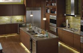 kichler under cabinet lighting steel lily design layering light in interiors