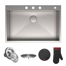 KS1092SS12SSADA KITCHEN SINK  Signature Plumbing SpecialtiesAda Undermount Kitchen Sink