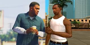 How Grand Theft Auto 5's Franklin & GTA: San Andreas' CJ Are Related