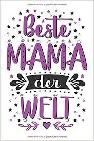 Amazoncom Beste Mama Der Welt Tolles Süßes Lustiges Notizbuch