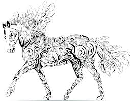 Horse Coloring Pictures To Print O8249 Horse Coloring Pages That