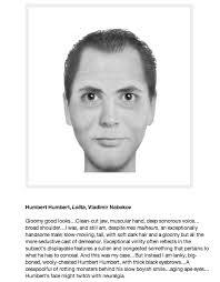 2 510 824 просмотра 2,5 млн просмотров. Here S What Humbert Humbert Looks Like As A Police Composite Sketch The Atlantic